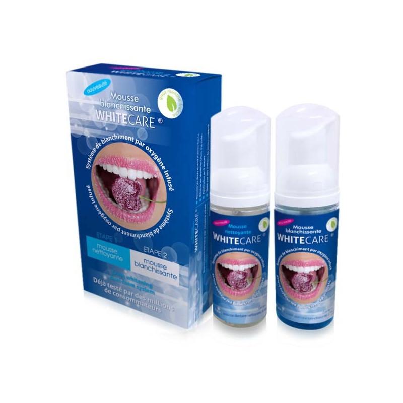 Mousses Dentifrice Blancheur Goût Menthe X2