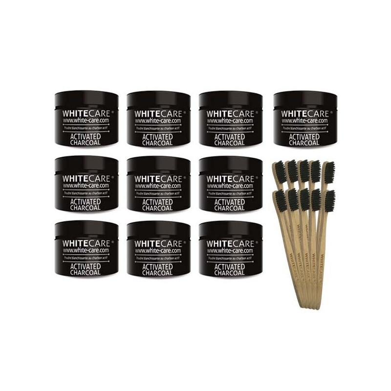 Poudre blanchissante au charbon végétal actif - Activated charcoal teeth whitening